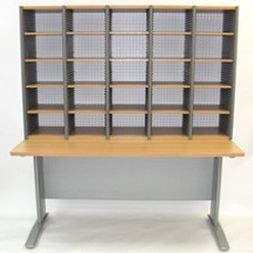 Aspect File Station with Mail Sorter