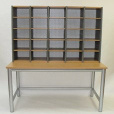 Aspect Open Bench Unit with Sort Station