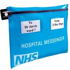 Hospital Messenger Pouch