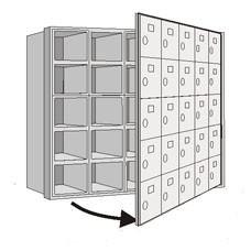 Horizonatal MailBoxes-4000