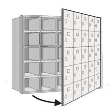 Horizonatal MailBoxes-6000