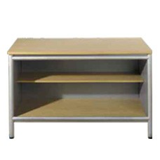 Open Console WIth Shelf - Aspect Line