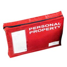 Personal Property Bag with Gusset