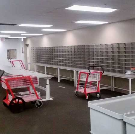 Mailroom Install